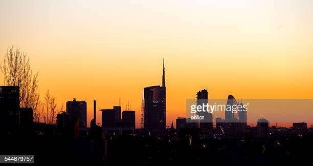 Milano, Porta Nuova skyline