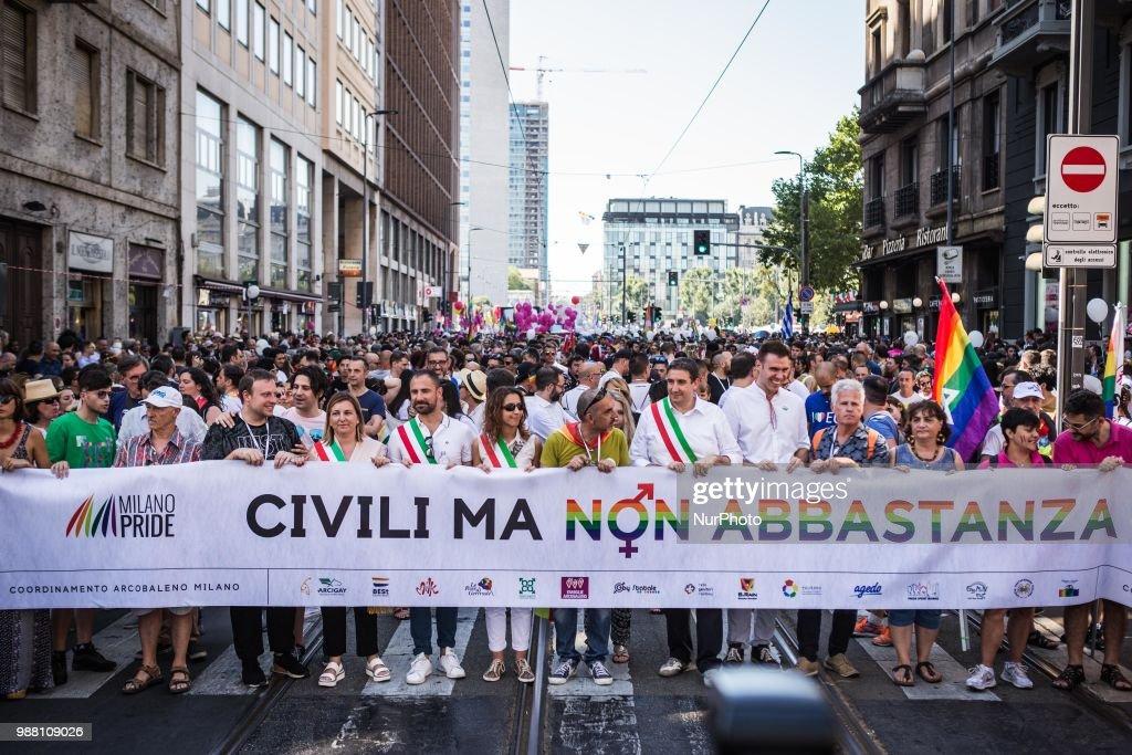 Gay Protest Milan 2018