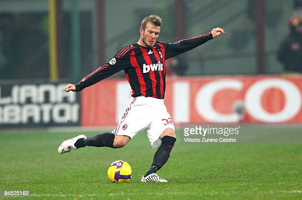 2 301 David Beckham Ac Milan Photos And Premium High Res Pictures Getty Images