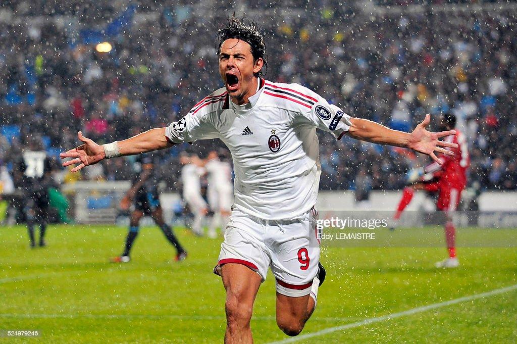 Soccer - UEFA Champions League - Olympique de Marseille vs. AC Milan : News Photo