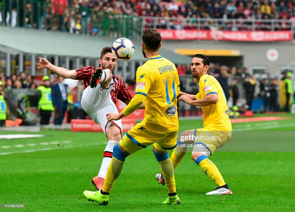 ITA: AC Milan v FrosinoneCalcio  - Serie A