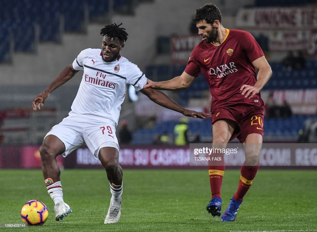 FBL-ITA-SERIEA-ROMA-AC MILAN : News Photo