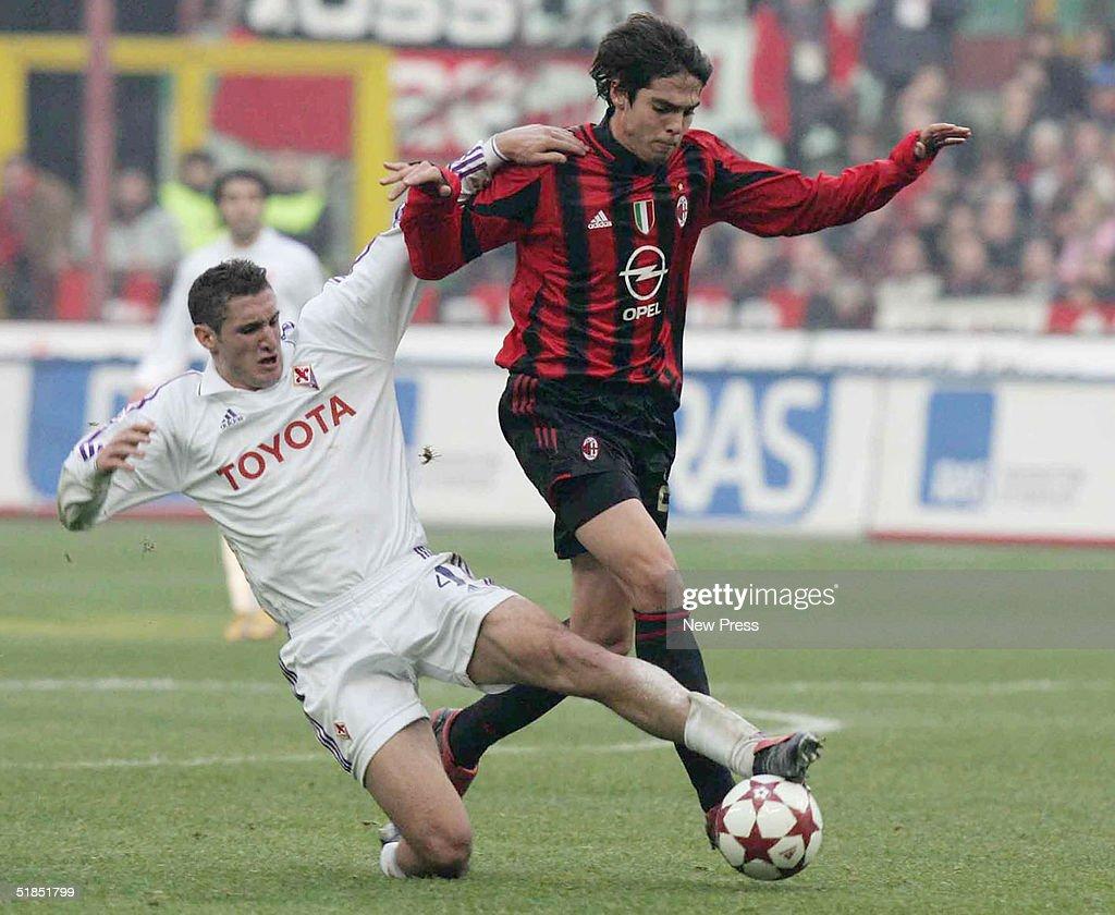 Milan v Fiorentina : News Photo