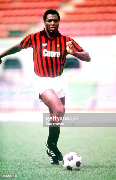 AC Milan's Luther Blissett in action