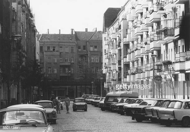 Milastraße in BerlinPrenzleuer Berg