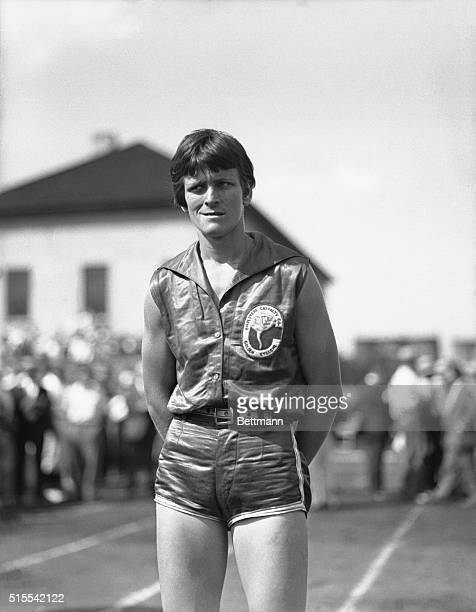 Mildred 'Babe' Didrickson is shown here She was perhaps the best allaround sportswoman ever being a participant of basketball baseball track and...