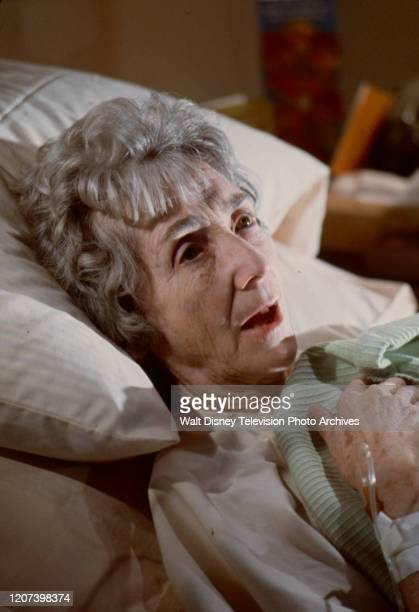 Mildred Dunnock appearing in the ABC tv movie 'Murder or Mercy'.