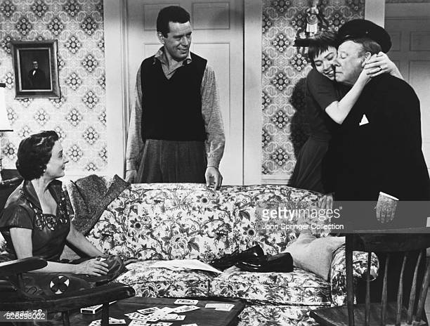 Mildred Natwick as Miss Ivy Gravely John Forsythe as Sam Marlowe Shirley MacLaine as Jennifer Rogers and Edmund Gwenn as Captain Albert Wiles in a...