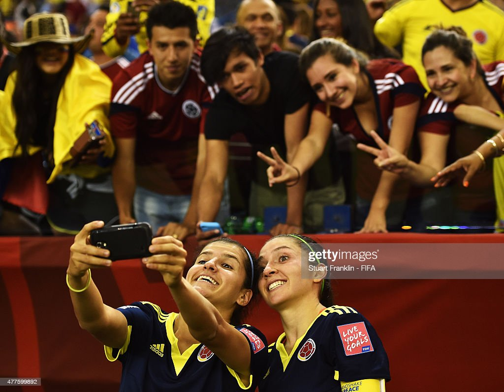 In Focus: Selfies At The Women's World Cup 2015