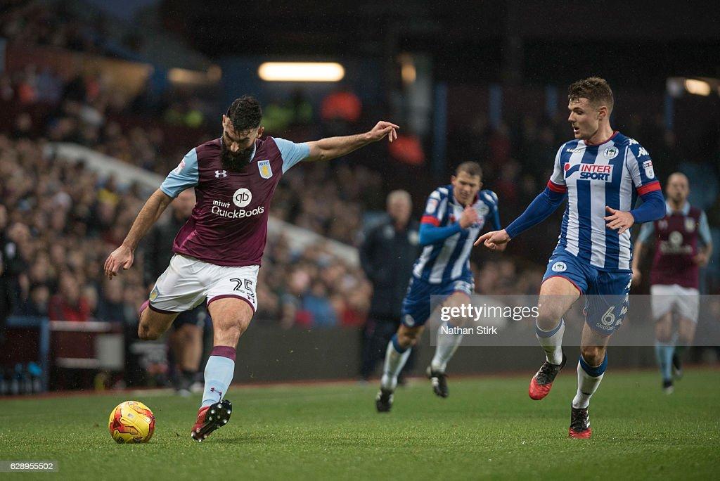 Aston Villa  v Wigan - Sky Bet Championship : News Photo