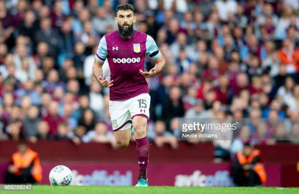 Mile Jedinak of Aston Villa during the Sky Bet Championship Play Off Semi Final Second Leg match between Aston Villa and Middlesbrough at Villa Park...
