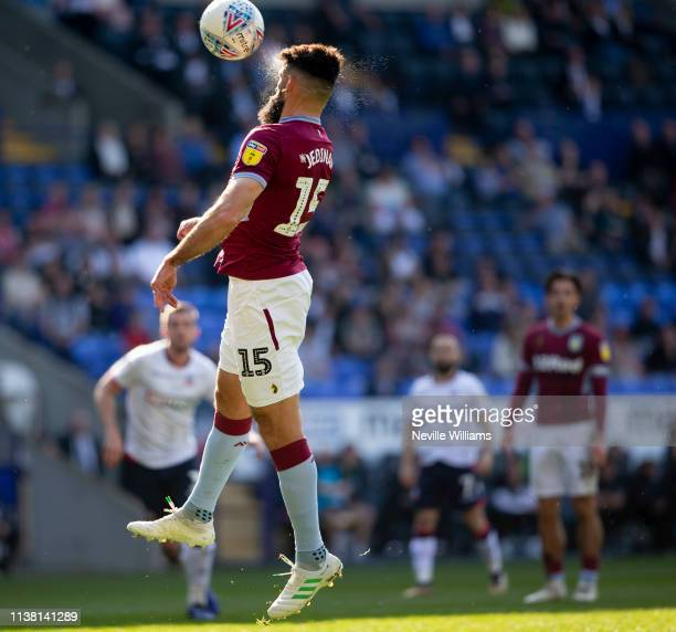 Mile Jedinak of Aston Villa in action during the Sky Bet Championship match between Bolton Wanderers and Aston Villa at the Macron Stadium on April...