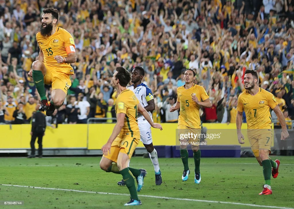 Australia v Honduras - 2018 FIFA World Cup Qualifiers: Leg 2 : News Photo