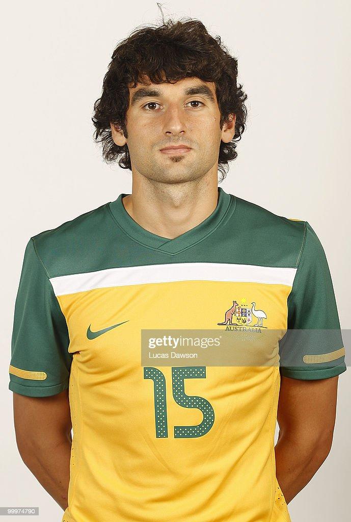 Australian Socceroos 2010 FIFA World Cup Headshots