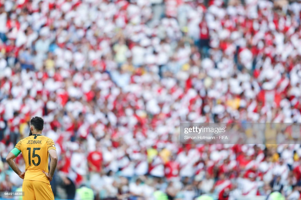 Australia v Peru: Group C - 2018 FIFA World Cup Russia : News Photo
