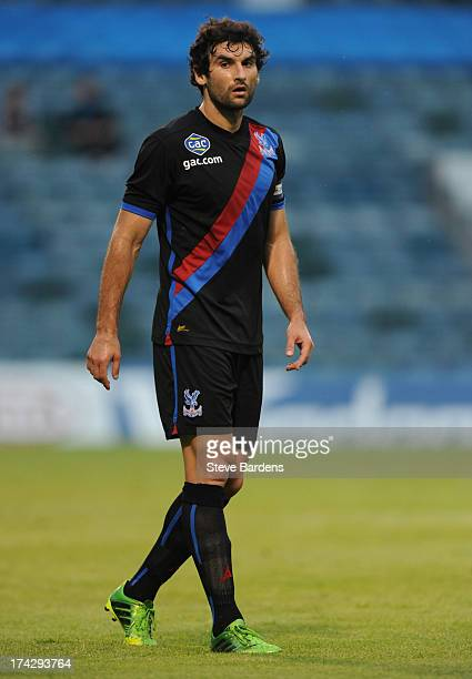 Mile Jedinak of Crystal Palace during the pre season friendly match between Gillingham and Crystal Palace at Priestfield Stadium on July 23 2013 in...