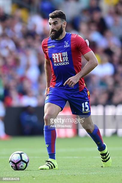 Mile Jedinak of Crystal Palace in action during the Premier League match between Crystal Palace and West Bromwich Albion at Selhurst Park on August...