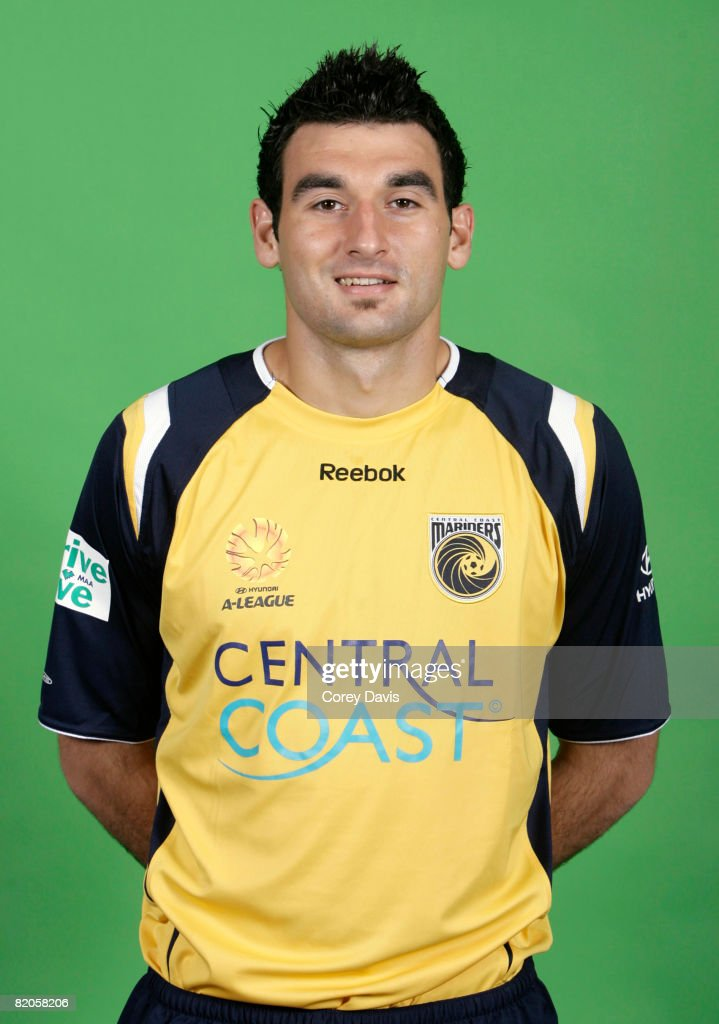 2008/2009 A-League Portraits - Central Coast Mariners
