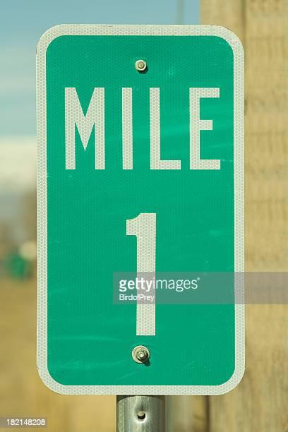 Mile Marker One.