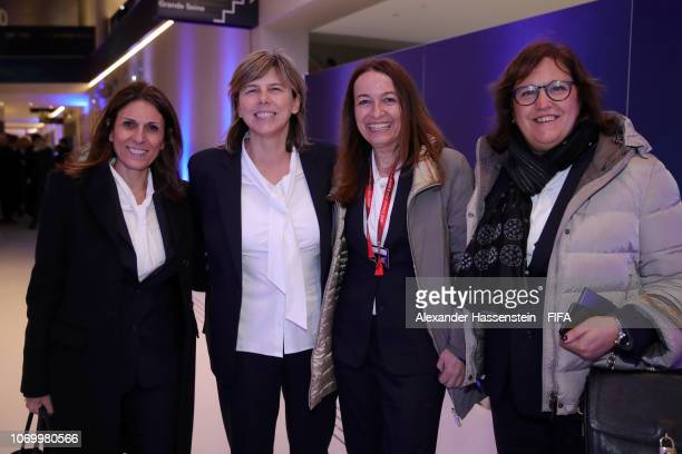 Milena Bertolini coach of Italy arrives for the FIFA Women's World Cup France 2019 Draw at La Seine Musicale on December 8 2018 in Paris France