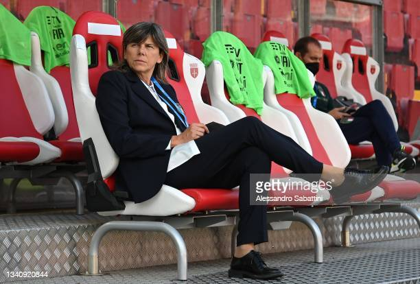 Milena Bertolini head coach of Italy Women before the FIFA Women's World Cup 2023 Qualifier group G match between Italy and Moldova at Stadio Nereo...