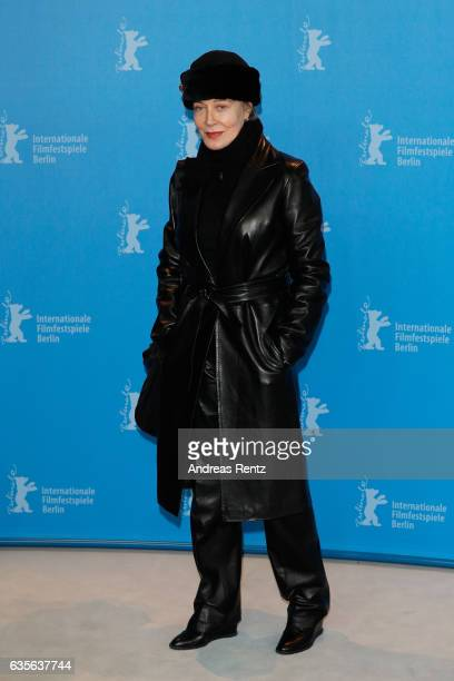 Milena Canonero attends the 'The Shining Hommage Milena Canonero' photo call during the 67th Berlinale International Film Festival Berlin at...