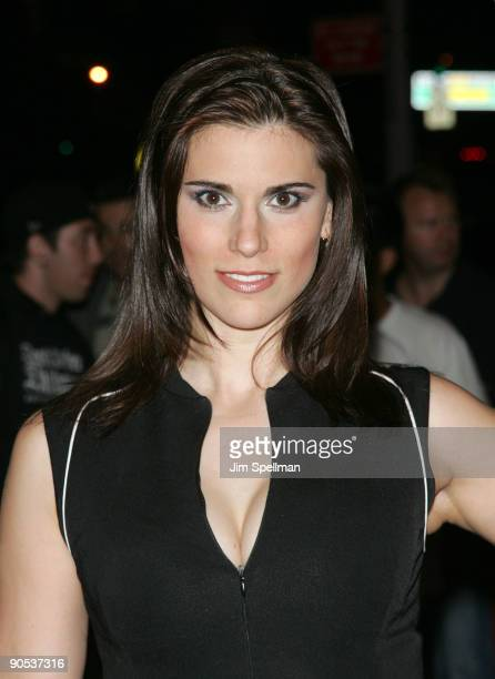 Milena Govich attends the Cinema Society screening of Beyond A Reasonable Doubt at the AMC Lincoln Square on September 9 2009 in New York City