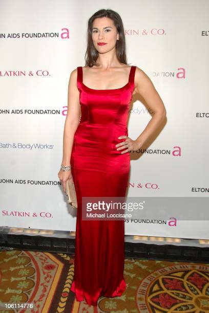 Milena Govich during 5th Annual Elton John Aids Foundation Benefit An Enduring Vision at The Waldorf Astoria in New York City New York United States