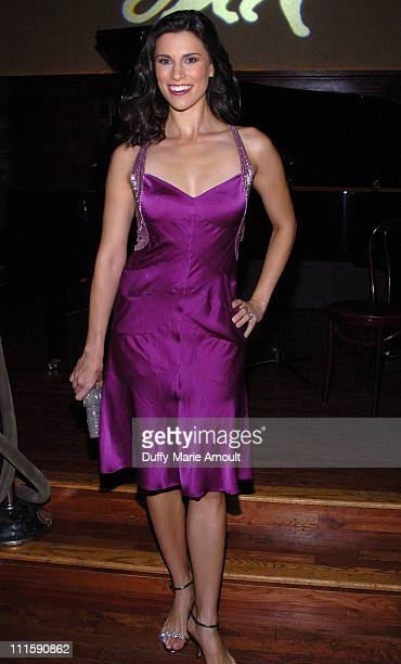 Milena Govich during Celebrity Rainforest Action Network Benefit at The Plumm in New York City New York United States