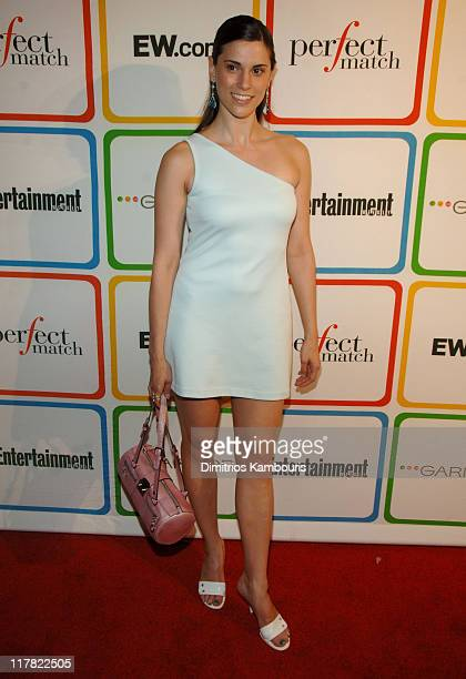 "Milena Govich during Entertainment Weelky's ""Must List"" Arrivals/Red Carpet at Buddha Bar in New York City New York United States"