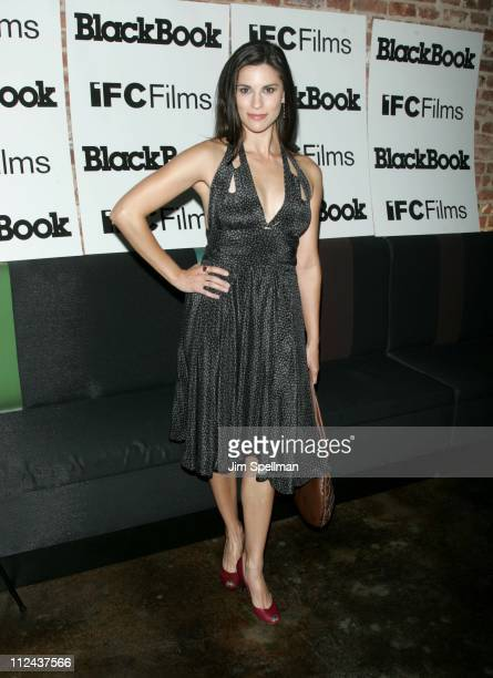 Milena Govich during IFC's Sherrybaby New York Premiere Outside Arrivals at IFC Theater in New York City New York United States