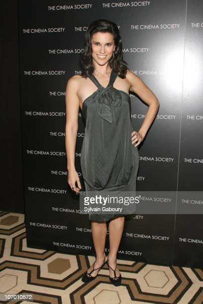 Milena Govich during The Cinema Society and David Yurman presented a Screening of Gentlemen Prefer Blondes Inside Arrivals at Tribeca Grand Screening...