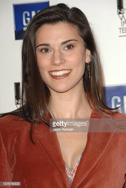 Milena Govich during The New York Women in Film and Television's 26th Annual Muse Awards December 14 2006 at The New York Hilton in New York City New...