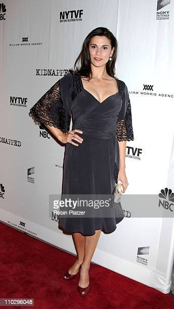 Milena Govich of Law and Order during Opening Night Gala for the New York Television Festival and NBC Premiere of Kidnapped September 12 2006 at The...