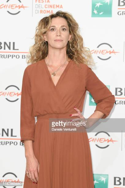 Milena Mancini attends the photocall of the movie Il terremoto di Vanja during the 14th Rome Film Festival on October 23 2019 in Rome Italy