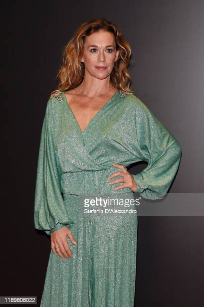 Milena Mancini attends the Vanity Fair Stories 2019 Awards Photocall at The Space Cinema Odeon on November 23 2019 in Milan Italy
