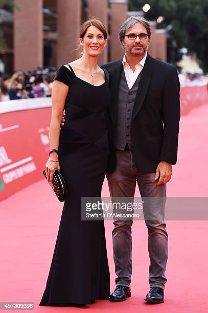 Milena Miconi and Mauro Graiani attend the 'Il Mio Papa' Premiere during the 9th Rome Film Festival on October 16 2014 in Rome Italy