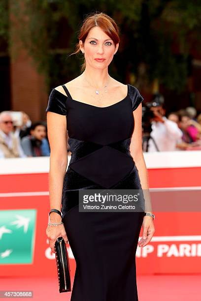 Milena Miconi attends the 'Il Mio Papa' Premiere during the 9th Rome Film Festival on October 16 2014 in Rome Italy