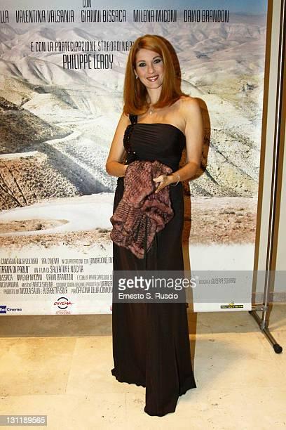 Milena Miconi attends the La Strada Di Paolo QA during the 6th International Rome Film Festival on November 2 2011 in Rome Italy
