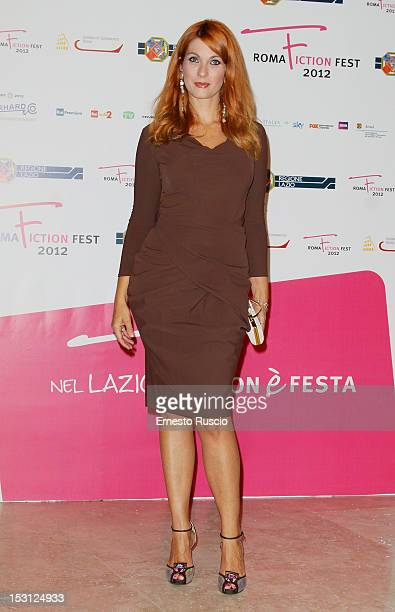 Milena Miconi attends the ' RomaFictionFest 2012 Opening Ceremony' at Auditorium Parco Della Musica on September 30 2012 in Rome Italy