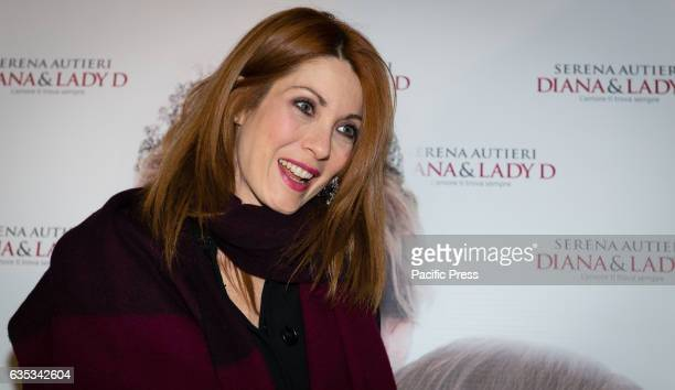 Milena Miconi during the premiere of Diana Lady D at Teatro Sistina Italy