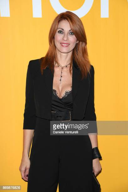 Milena Miconi walks a red carpet for 'Borg McEnroe' during the 12th Rome Film Fest at Auditorium Parco Della Musica on November 3 2017 in Rome Italy