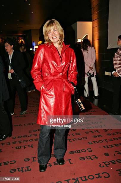 """Milena Preradovic at The """"The Interpreter"""" Premiere in Cinestar at Potsdamer Platz in Berlin 130405."""