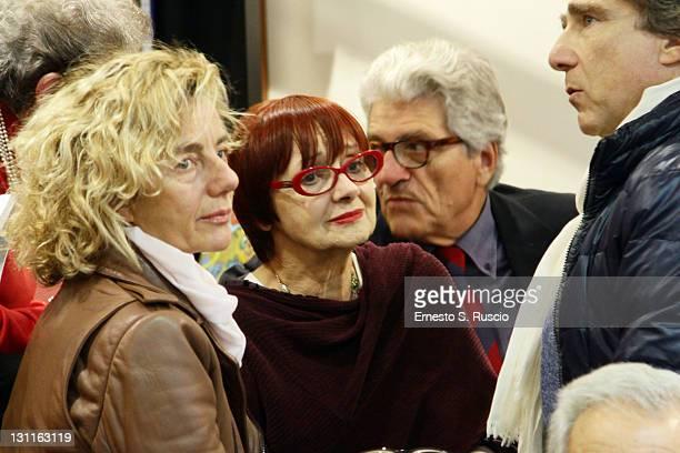 Milena vukotic attends the Mario Camerini Book Presentation during the 6th International Rome Film Festival on November 2 2011 in Rome Italy