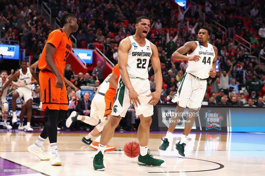 NCAA Basketball Tournament - First Round - Detroit
