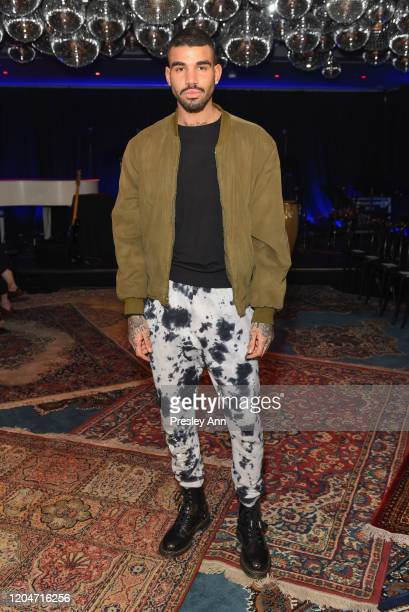 Miles Brockman Richie attends Baja East FW20 Los Angeles runway show at Sunset at EDITION on February 07, 2020 in West Hollywood, California.