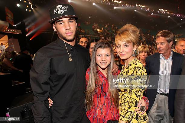 Miles Brockman Richie, TV personality Nicole Richie and Sofia Richie attend the Lionel Richie and Friends in Concert presented by ACM held at the MGM...