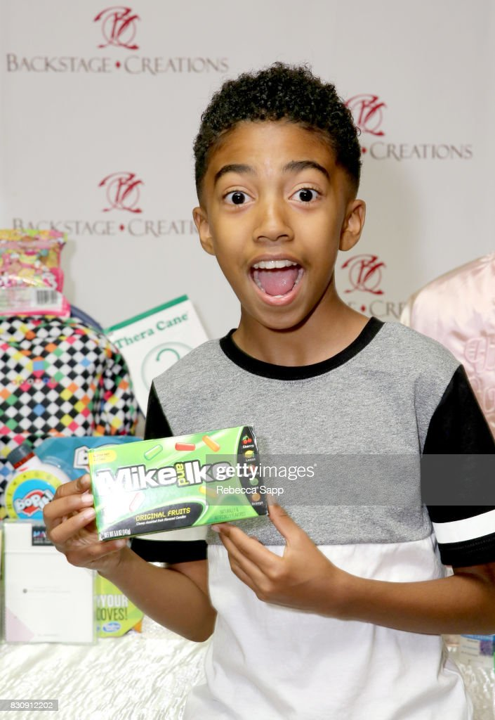 Miles Brown at day one of Backstage Creations Celebrity Retreat at Teen Choice 2017 at Galen Center on August 12, 2017 in Los Angeles, California.