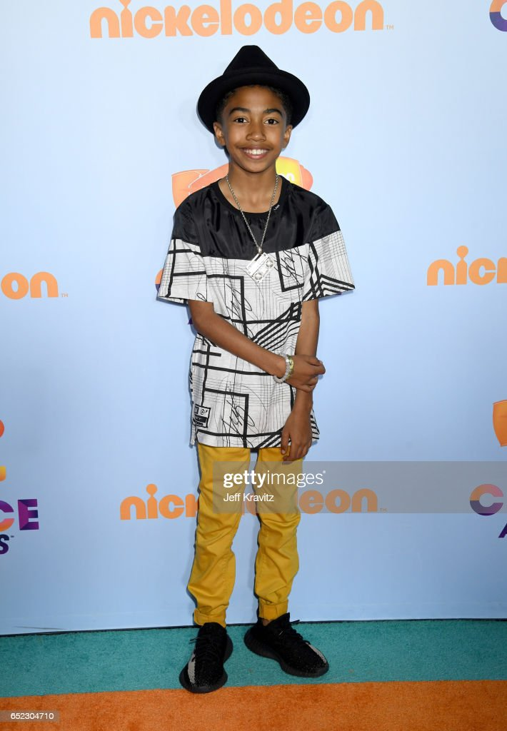 Miles Brown at Nickelodeon's 2017 Kids' Choice Awards at USC Galen Center on March 11, 2017 in Los Angeles, California.