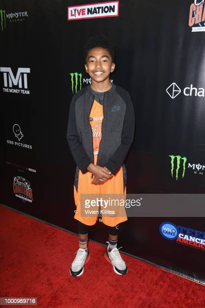 Miles Brown attends 50K Charity Challenge Celebrity Basketball Game at UCLA's Pauley Pavilion on July 17 2018 in Westwood California